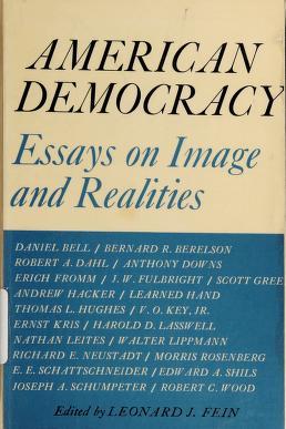 Cover of: American democracy | Leonard J. Fein