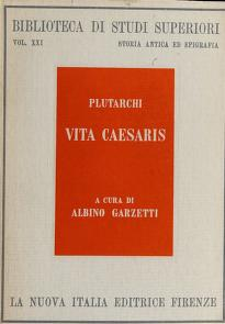 Cover of: Vita Caesaris | Plutarch