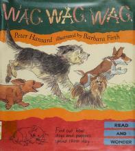 Cover of: Wag, wag, wag   Peter Hansard