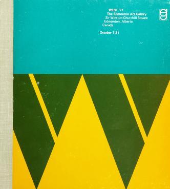 Cover of: West '71 | Edmonton Art Gallery